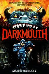 KISS THE BOOK: Darkmouth: The Legend Begins by Shane Hegarty, illustrations by James de la Rue - ADVISABLE