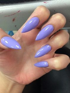 Purple claws