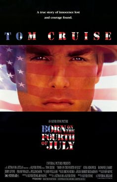 Born on the Fourth of July , starring Tom Cruise, Raymond J. Barry, Caroline Kava, Josh Evans. The biography of Ron Kovic. Paralyzed in the Vietnam war, he becomes an anti-war and pro-human rights political activist after feeling betrayed by the country he fought for. #Biography #Drama #War