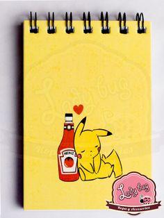 Libreta Pikachu