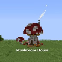 I did a little mushroom house in honor of Halloween! Although it s not what you think as a spooky build Minecraft Minecraft construction Minecraft blueprints