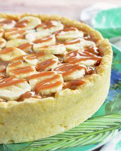 Tarta de dulce de leche y banana Hobby Ideas, No Cook Desserts, Hawaiian Pizza, Cheesecakes, Bananas, Food And Drink, Pie, Cooking, Ethnic Recipes