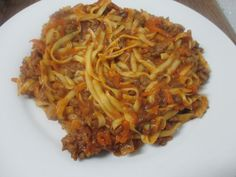 Sneaky Beef and Lentil Spaghetti Bolognese Recipe- Dairy Free- Vegan and Legume Free Options