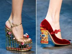Dolce And Gabbana Shoes 2013 | Friday, March 8th 2013 | Dolce and Gabbana , Shoes , Women