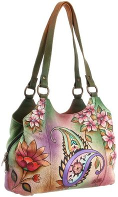 e1527de411a Anuschka 469 JPP Satchel Bag, Jaipur Paisley, One Size  Handbags  Amazon.com