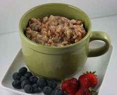 A Year of Slow Cooking: Basic Overnight Oatmeal Slow Cooker Recipe