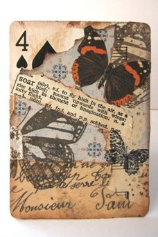 ATC Altered Playing Card