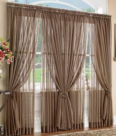 Benefits Of Using Sheer Curtains - DIY Tips ~ Home Decors