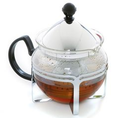Chrome Tea Maker - Breakfast Brunch