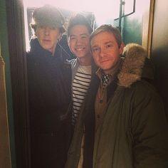 #setlock Benedict + Martin + crew member { http://statigr.am/viewer.php#/detail/431626039456651812_22597005 }