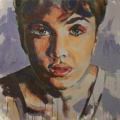 """""""purple"""" acrylic on canvas, Nicol Lunardi Fine Art, Purple, Canvas, Painting, Tela, Painting Art, Canvases, Paintings, Visual Arts"""