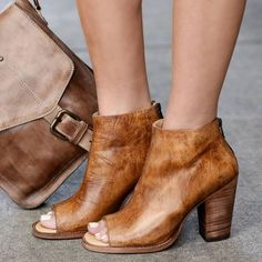 77c9d1ef79c0 Peep Toe Zipper Chunky Heel Summer Casual Boots