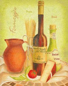 Cuisine Du Monde III Art Print by Sophia Sanchez Easyart.com