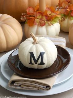 Monogrammed Placesetting