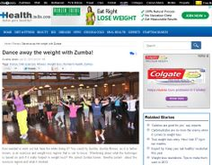 ZUMBA FITNESS ARTICLE PUBLISHED IN HEALTH INDIA – Zumba Fitness Mumbai