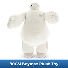 Disney Baymax Plush - Big Hero 6 - Medium - 15 Inch: Cuddle-up to our soft stuffed Baymax for compassionate care and comfort throughout the daily adventure of life. This big plush robot is sure to cure the blues! Big Hero 6, Disney Parks, Walt Disney World, Rilakkuma, Big Hero Baymax, Disney Stuffed Animals, Big Plush, Tsumtsum, Disney Plush