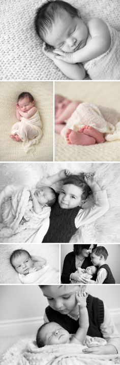 newborn photos with sibling
