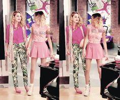 Bildergebnis für violetta y ludmila 3 Violetta Outfits, Violetta Live, Ariana Grande Outfits, Closet Essentials, Mercedes, Disney Channel, New Girl, Skater Skirt, Thats Not My