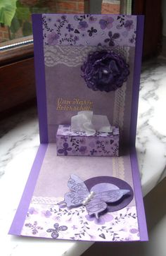 Cute inside kleenex box for get well - by niki1 - Cards and Paper Crafts at Splitcoaststampers