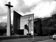Christ Episcopal Church, Tacoma WA, architect Paul Thiry, completed in 1969.