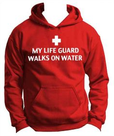 Peace Be With U - My Life Guard Walks On Water - Christian Youth Hoodie, $34.95 (http://www.peacebewithu.com/my-life-guard-walks-on-water-christian-youth-hoodie/)