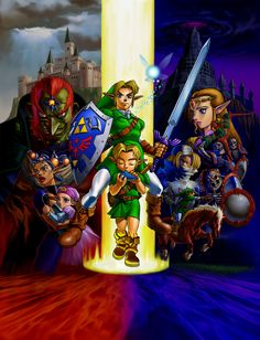 Ocarina of Time Posters