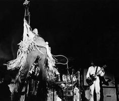 Roger Daltrey and Pete Townshend of The Who Performing at Woodstock - Archive…