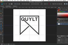 TUTORIAL: Designing the QUYLT Logo in AFFINITY DESIGNER