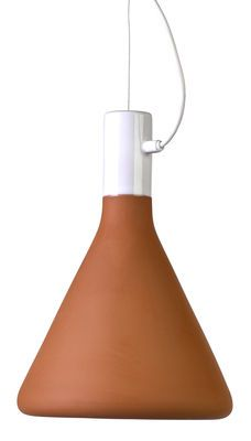 Suspension Flask / Terre cuite - H 30 cm Terracotta - Pols Potten