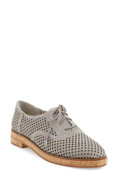 Vince Camuto 'Salisa' Oxford Flat (Women) available at #Nordstrom