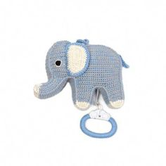 Anne-Claire Petit - Crochet: Animals, Toys, Baby Gifts, Fashion and Home Accessories, Hand Made Design Elephant Applique, Crochet Elephant, Crochet Music, Hand Crochet, Crochet Baby Mobiles, Crochet Toys, Designers Guild, Franck Fischer, Kids Clothing Brands List