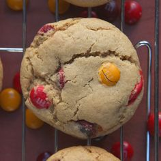 Soft and Chewy M&M Cookie Recipe - On Sugar Mountain