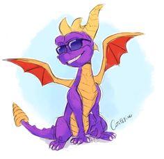 Spyro The Dragon Game, Spyro And Cynder, Fiery Dragon, Dragon Series, Fire Breathing Dragon, Year Of The Dragon, Dragon Design, Character Design Animation, Dragon Art