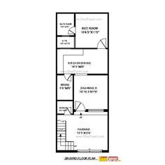 15 Foot Wide House Plans - √ 16 15 Foot Wide House Plans , House Plan for 15 Feet by 50 Feet Plot Plot Size 83 2bhk House Plan, Narrow House Plans, Model House Plan, Simple House Plans, House Layout Plans, Duplex House Plans, Family House Plans, Dream House Plans, House Floor Plans