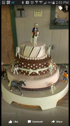 Playmobil Horse Birthday Cake