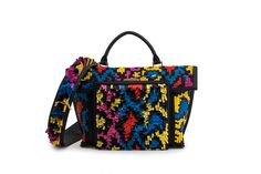 Azzurra Gronchi spring/summer bags collection, double weave front