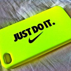 Gender neutral iPhone case: I chose this design because the colors contrast very well on the case, making it extremely catchy.  Also the type on the case compliments the nike logo, which makes the simple design genius.