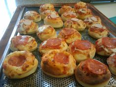 for your parties ; small mini pizzas