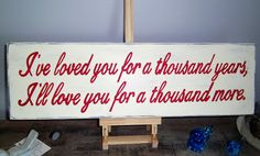 Full Circle Creations: Thousand year sign...