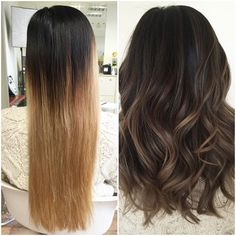 nice Avant-Apres : asian ash brown balayage - Google Search...