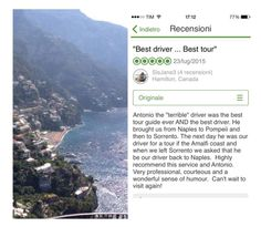Private Transfer - Tour - Excursion from Hotel, Airport, Train Station, Port, Ship to Naples,Sorrento,Amalfi Coast