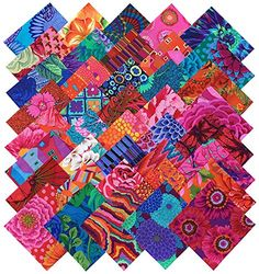 Kaffe Fassett Collective BOLD BRIGHT Precut 5-inch Cotton Fabric Quilting Squares Charm Pack Assortment Westminster Fibers Kaffe Fassett http://www.amazon.com/dp/B013VONF44/ref=cm_sw_r_pi_dp_..4Zwb0KRNRN1