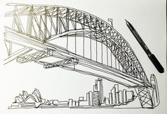Sydney  #thomaspavitte #cityscapes #sydney #australia #sydneyharbourbridge #dottodot #dottodotbook #connectthedots #drawing #destress #fineart #sg #sgig #singapore #singaporeig #singaporelife #igsg #igers #igsger #instasg #iphone #iphonesia #iphoneonly #iphoneography by priscias http://ift.tt/1NRMbNv