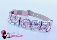 Charmsations - HOPE Pink Ribbon Thin Leather Bracelet, $12.00 (http://www.charmsations.com/hope-pink-ribbon-thin-leather-bracelet/)
