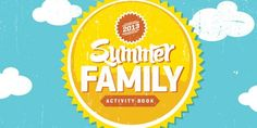 """Summer Family Time Activity Book 