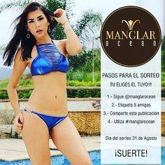 SIGUE la cuenta IG: @manglarocean y participa en su fabuloso SORTEO  puedes ser la afortunada ganadora de un hermoso traje de baño sigue las instrucciones para participar en su cuenta @manglarocean @manglarocean @manglarocean Mucha suerte!   DIRECTORIO MMODA  #Tendencias con sello Venezolano  #DirectorioMModa #MModaVenezuela #DiseñoVenezolano #Venezuela #Concurso #sorteo #moda #trajedebaño #Caracas #Valencia #Anzoátegui #Maracaibo #Margarita #hechoenvenezuela