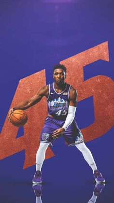Jazz Basketball, Basketball Design, Basketball Players, Nba Kings, Nba Pictures, Nba Wallpapers, Utah Jazz, Wallpaper Size, Freelance Graphic Design