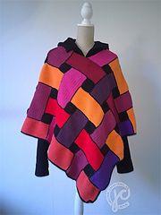 Ravelry: celtic poncho pattern by Jellina Verhoeff