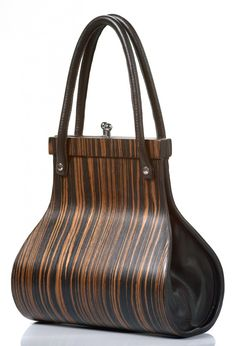 Wooditbe - Fashion & Design - Torbica Wooditbe - temni makassar furnir