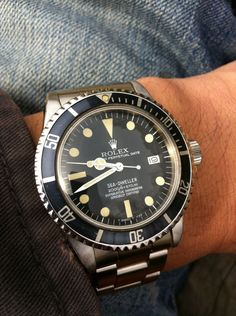 Rolex Watches Collection : rolex - Watches Topia - Watches: Best Lists, Trends & the Latest Styles Sport Watches, Cool Watches, Watches For Men, Vintage Rolex, Vintage Watches, Luxury Watches, Rolex Watches, Rolex Wrist Watch, Sea Dweller